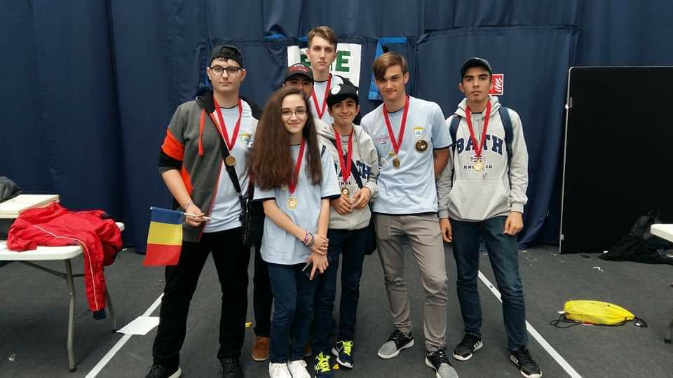 Medalie de aur la First Lego League International Open Championship