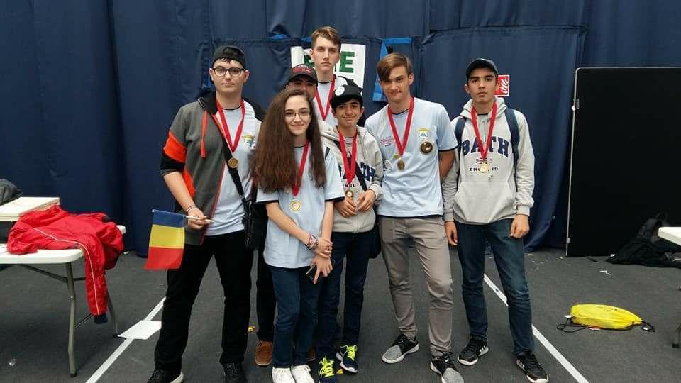 Medalie de aur la First Lego League International Open Championship