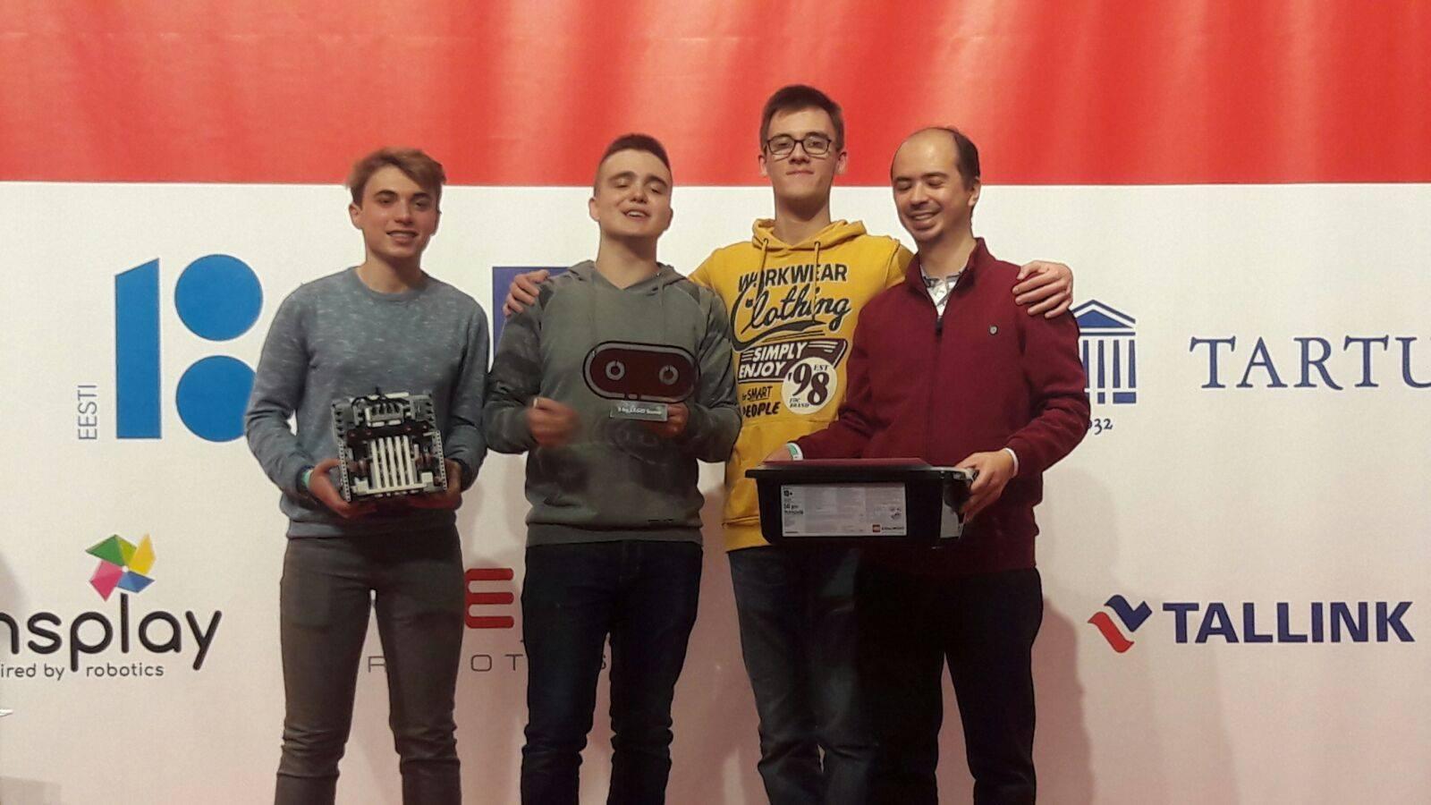 Robotex 2017, obținut Premiul II la cel mai mare Festival al Roboților din Europa