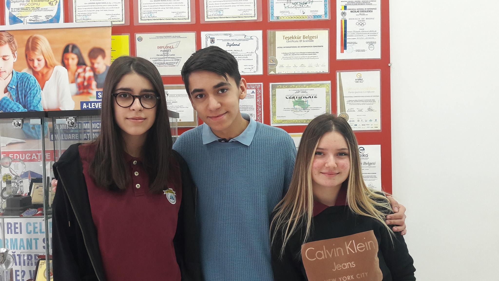 Obtinut Premiul I si calificarea la olimpiada nationala de limba turca